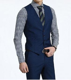 Đồng phục áo gile nam công sở