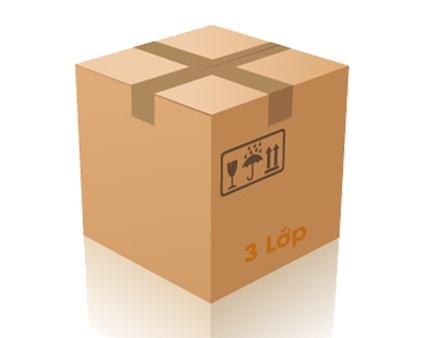 thùng carton 3 lớp khổ nhỏ