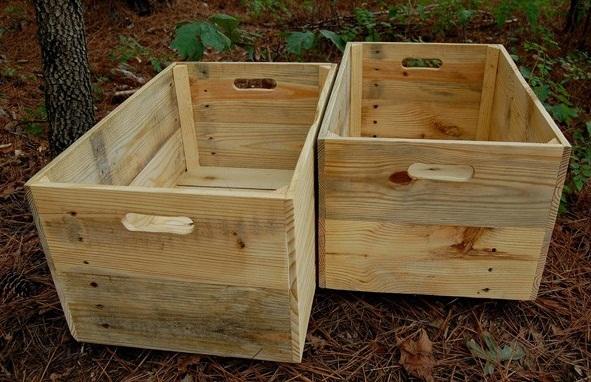 Thùng gỗ đóng hàng xuất khẩu