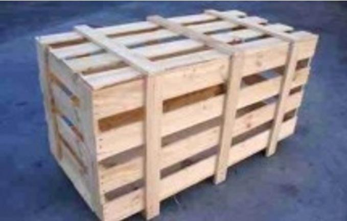 Thùng gỗ đựng máy móc