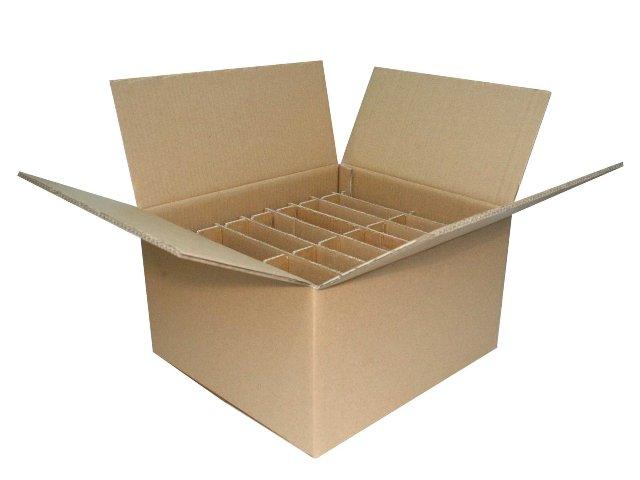 Thùng carton 3 lớp, nắp đối khẩu