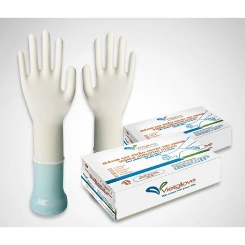 Găng tay Latex phẫu thuật có bột