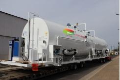 Bồn chứa xăng dầu 25m3