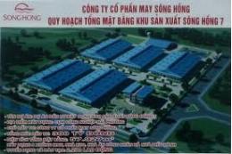 Dự án Mở rộng Công ty May Sông Hồng - NĐ