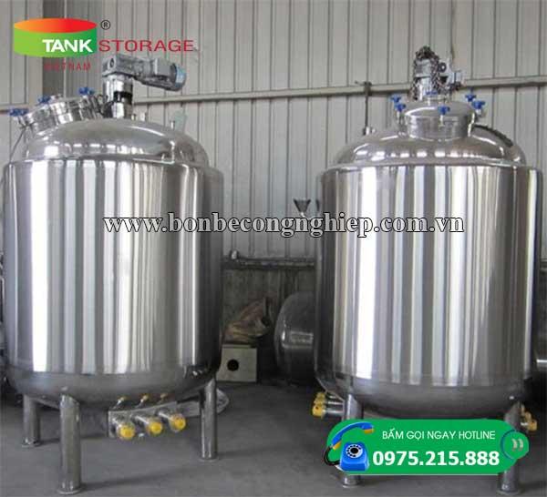 Bồn chứa hóa chất Inox