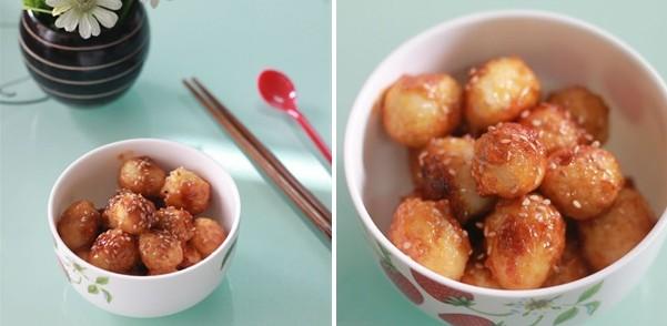 Trứng Cút Rim Chao