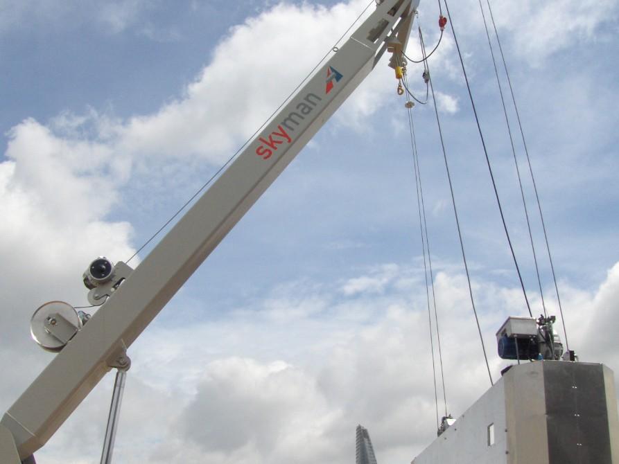 Thiết bị nâng Gondola BMU