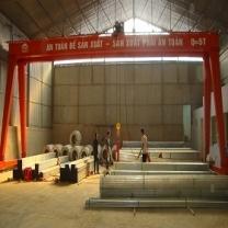 Cổng Trục Dầm Đôi 5T