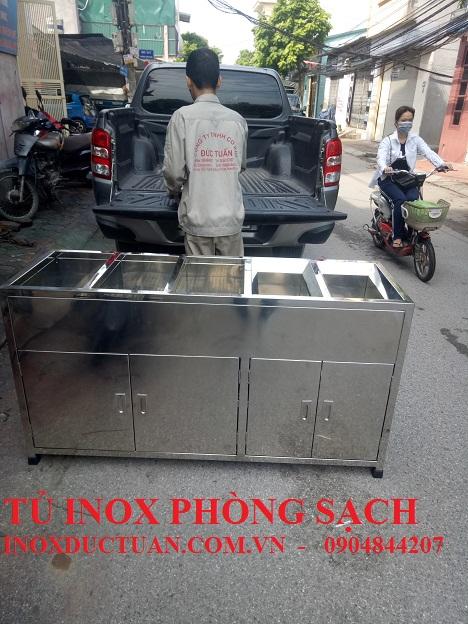 TỦ INOX PHÒNG SẠCH