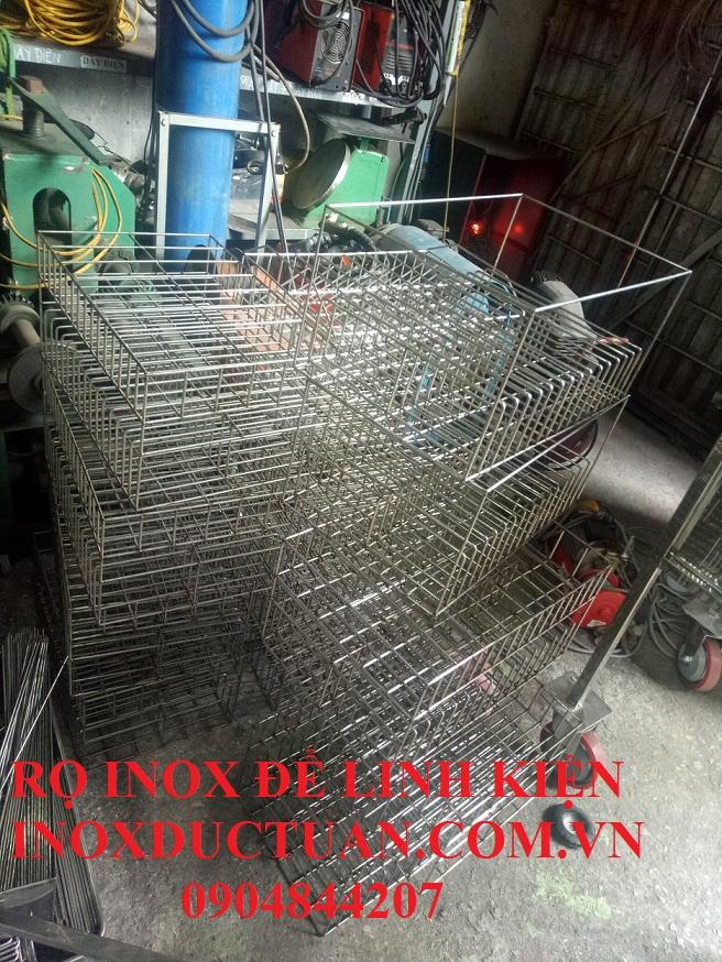 RỌ INOX 304 ĐỂ LINH KIỆN