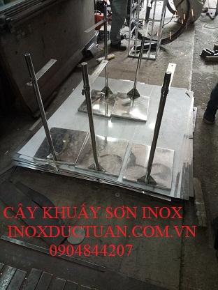 CÂY KHUẤY SƠN INOX
