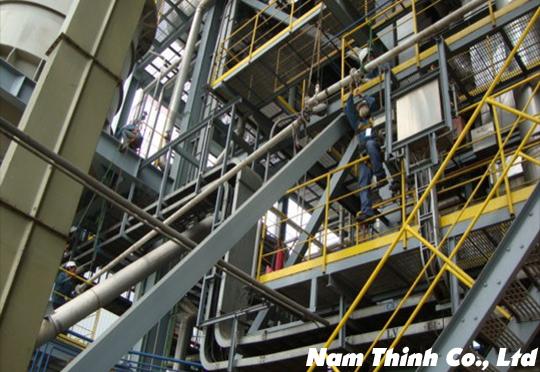 Lắp đặt, bảo trì ống băng tải than