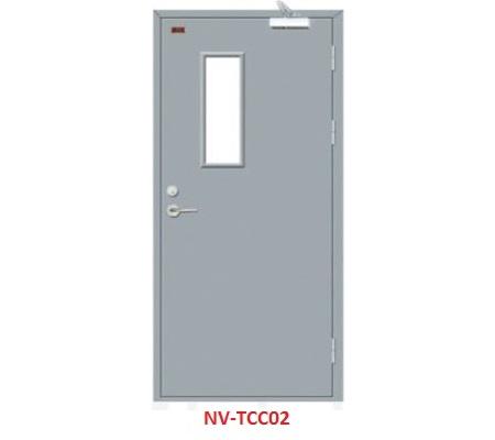 Cửa thép chống cháy 1 cánh TCC-02