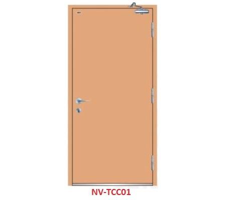 Cửa thép chống cháy 1 cánh TCC-01