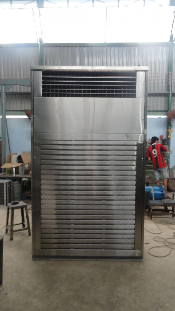 Máy lạnh AHU sử dụng gas NH3