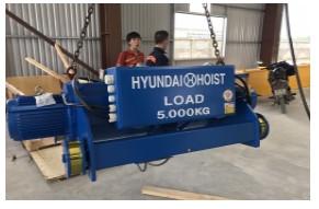 Palang Cáp Điện Hyundai 5 Tấn
