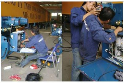 Bảo trì sửa chữa Palang cầu trục