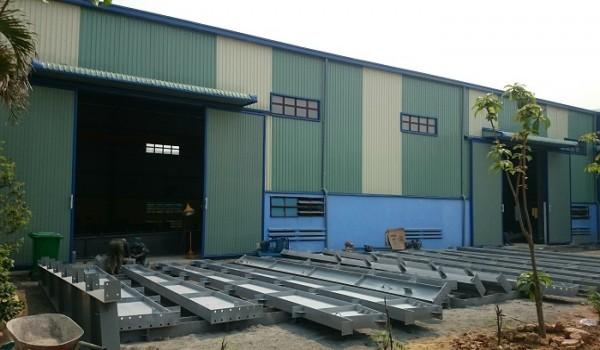 Sản xuất kết cấu thép tiền chế