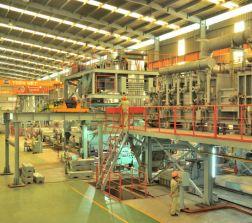 Lắp đặt dây chuyền sản xuất thép