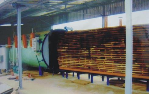 Hệ thống sấy gỗ