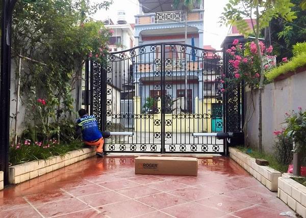 Cửa cổng hiện đại