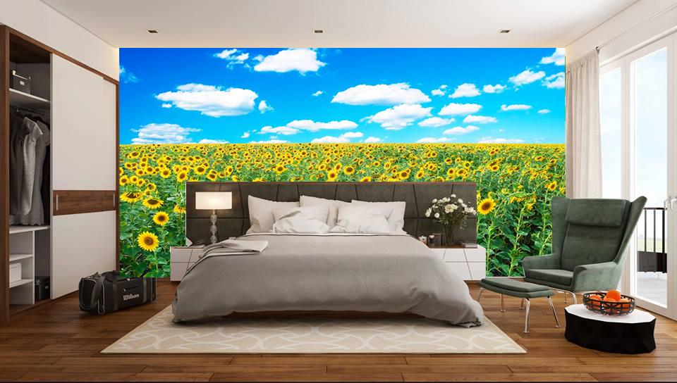 Tranh dán tường hoa lá - tĩnh vật