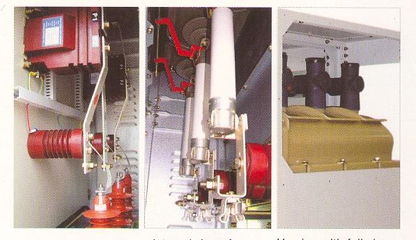 Dãy tủ Cầu dao phụ tải 24kV dập hồ quang bằng khí SF6,