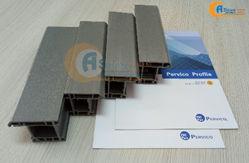 Thanh Nhựa uPVC Trắng & Vân Gỗ