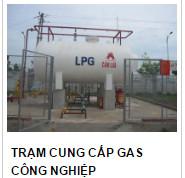 Trạm cung cấp gas công nghiệp