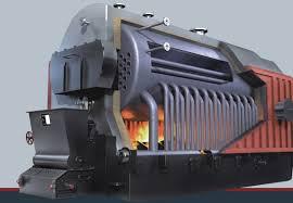 Lò hơi đốt than ống nước ghi xích