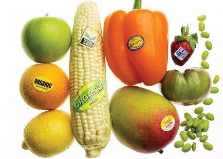 Tem dán hoa quả