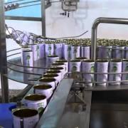 Dây chuyền sản xuất nước ngọt đóng lon