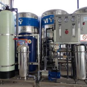 Dây chuyền xử lý nước tinh khiết đóng bình 20 lít
