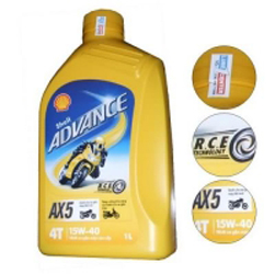 Shell Advance AX5 15W-40