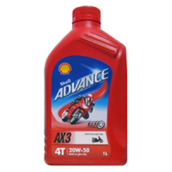 Shell Advance AX3 20W-50