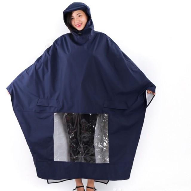 Áo mưa cánh dơi vải dù
