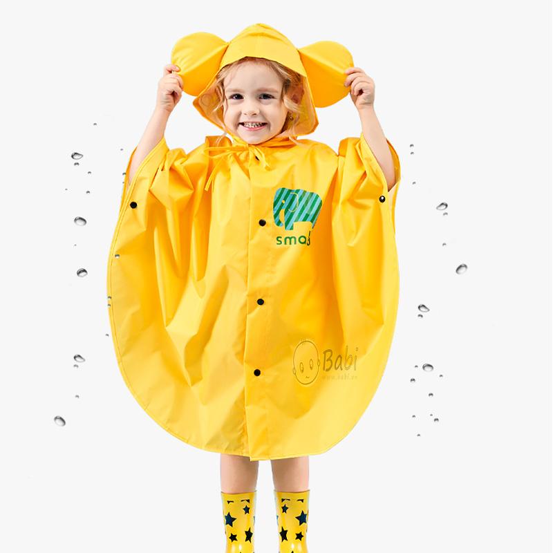 Áo mưa trẻ em hình chú voi