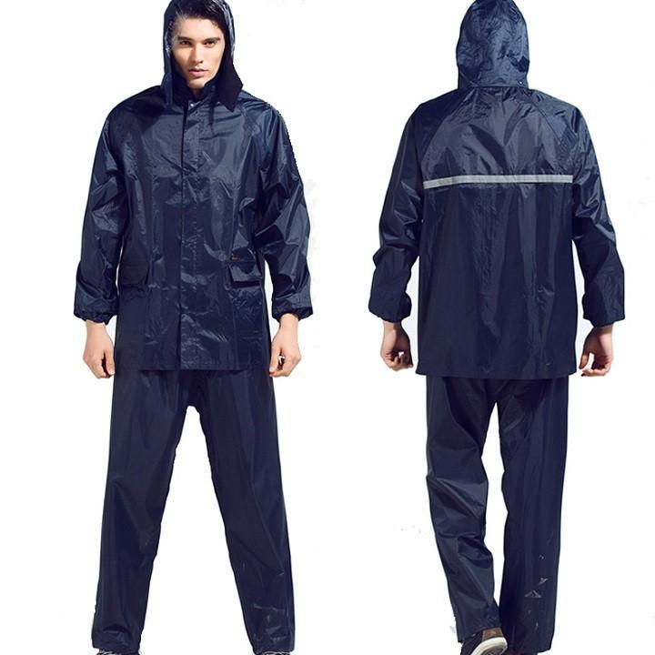 Áo mưa bộ vải dù siêu nhẹ