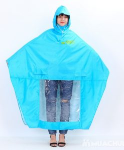 Áo mưa quảng cáo canh dơi vải dù
