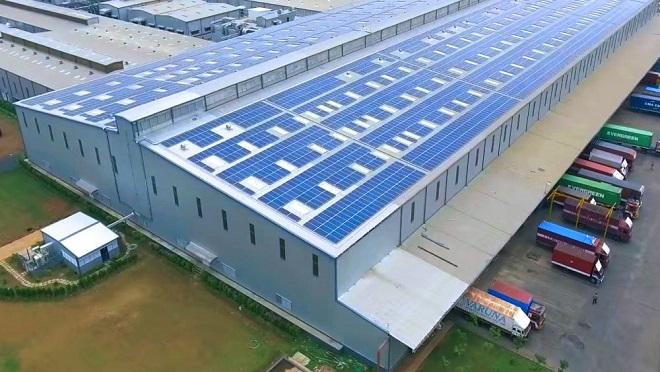 Điện mặt trời cho nhà xưởng