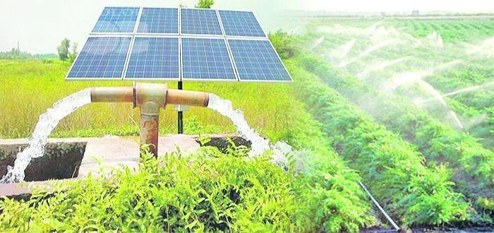 Hệ thống năng lượng mặt trời cho hệ thống máy bơm nước