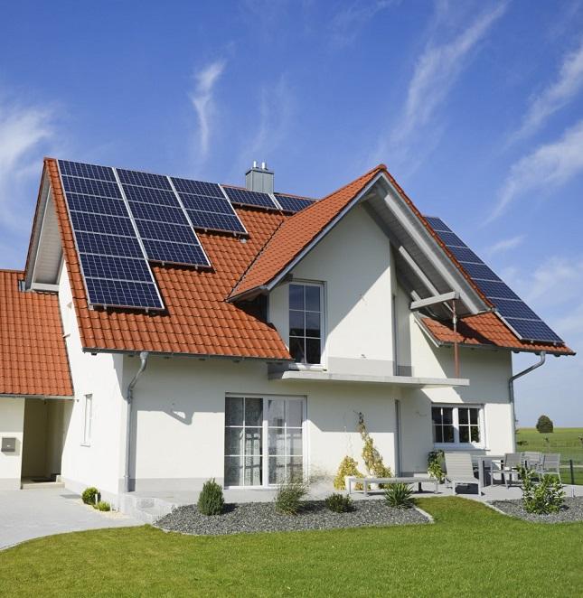 Điện mặt trời cho nhà dân