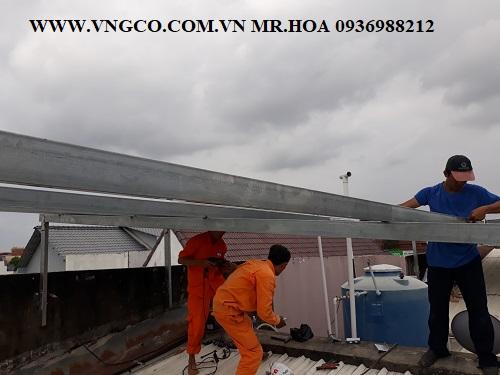 Lắp đặt hệ thống năng lượng mặt trời 6kw