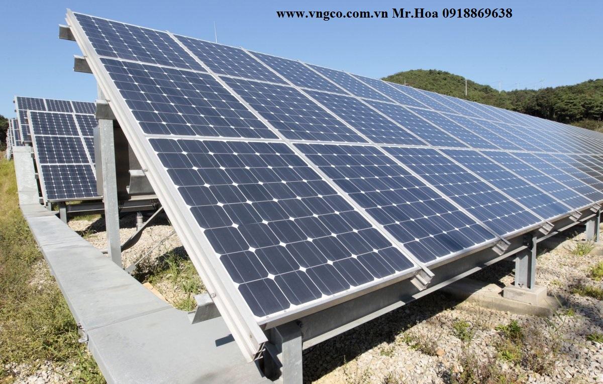 Hệ thống năng lượng mặt trời hòa lưới 300kw