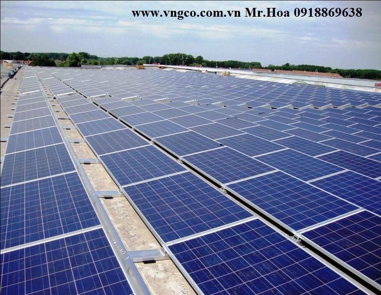 Cung cấp hệ thống năng lượng mặt trời 300kw