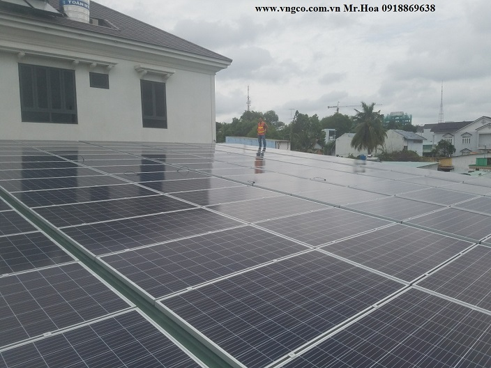 Cung cấp hệ thống năng lượng mặt trời 100kw