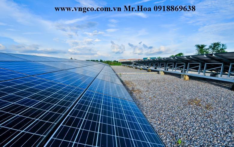 Lắp đặt hệ thống năng lượng mặt trời 300kw
