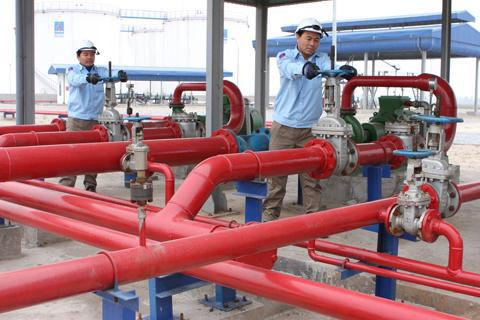Thi công hệ thống đường ống cấp nước chữa cháy