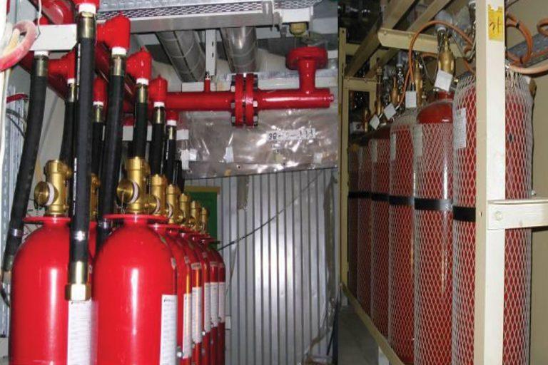 Thi công hệ thống chữa cháy khí