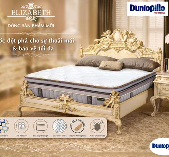 Đệm lò xo Elizabeth Dunlopillo